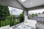 Master bedroom balcony at 1447 Ottawa Avenue, Ambleside, West Vancouver